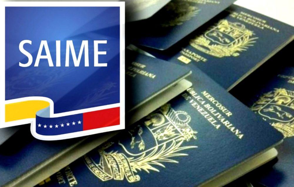 pasaporte venezuela